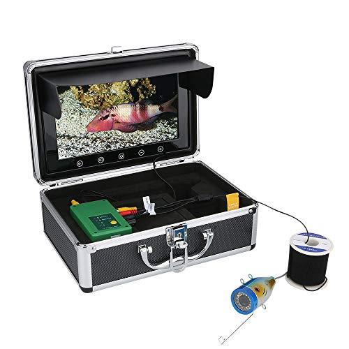 GRXXX Unterwasser-Fischfinder HD Unterwasserkamera 9-Zoll-TFT-Farbanzeige 1000 TVL-Kamera IP68 Wasserdichtes Kit, 15M, 30M, 50M,30M
