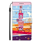 PTSMCH Flip Coque pour Samsung Galaxy M31 SM-M315F Coque Phone Case Cover Etui Housse 5