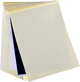Transfer Paper 100 Sheets Stencil Paper Thermal Stencil Paper for Skin A4 Size