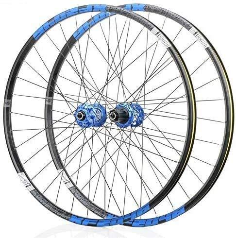 Ruedas De Bicicleta,llantas bicicleta Ruedas de bicicleta de montaña, bicicleta de ruedas 26/29 / 27,5 pulgadas frontal trasero de ruedas de freno de disco de doble pared llanta de liberación rápida 3