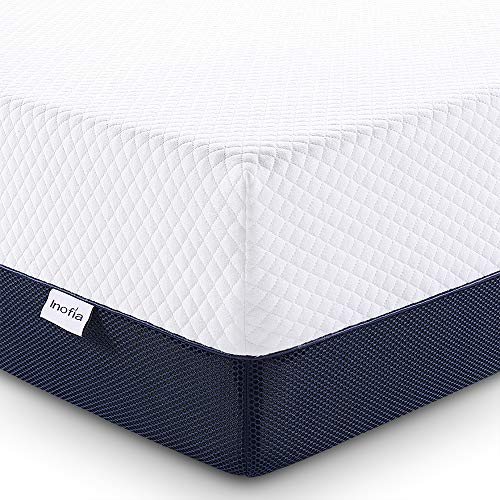 Full Size Mattress, Inofia 10 Inch Ventilated Cool Gel Infused Memory Foam...