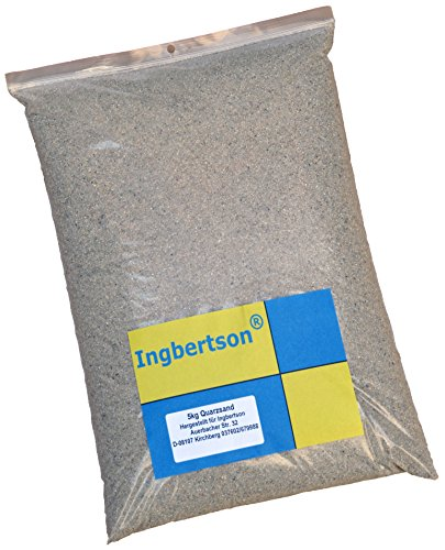 5kg Ingbertson® Sand mit sehr feiner Körnung 0,0-1,00 mm wie am Strand