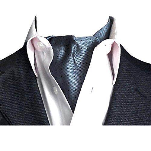 YCHENG Pañuelo Hombre Corbatas Moda Lunares Cravat Chalina para Banquete y Boda Fiesta A04