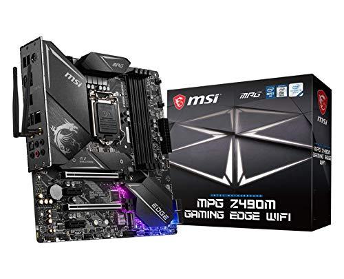 MSI - MPG Z490M Gaming Edge Wifi - Placa Base Performance Gaming...