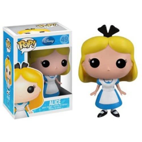 Funko- Pop Vinile Disney Paese delle Meraviglie Personaggio Alice, 3196