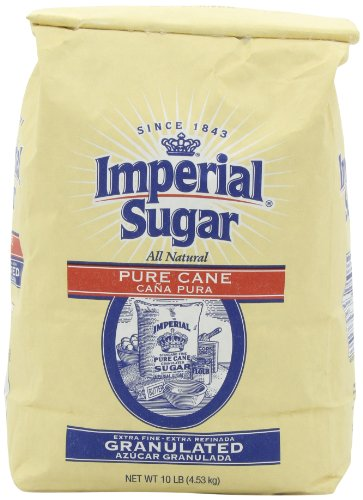 Imperial Extra Fine Granulated Sugar, 10-Pound