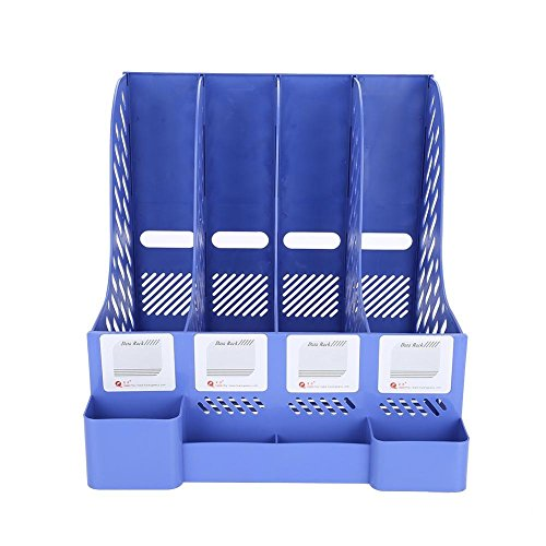 Datei-Organizer, Zeitschriftenheft-Dateiständer-Organizer, Office Home Desk-Aufbewahrungsbox-Stifthalter