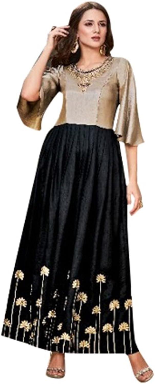 Bollywood Collection Anarkali Salwar Kameez Suit Ceremony Punjabi Muslin 641 9