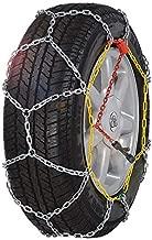 BaiYouDa Alloy Snow Chain Wear Resistant Tire Chain for Cars,SUVs,Minivans-Set of 2(KN130)