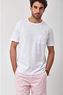 Camiseta Flor - Branco