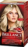 SCHWARZKOPF BRILLANCE Intensiv-Color-Creme 811 Scandinavia Blond Stufe 3, mit extra...