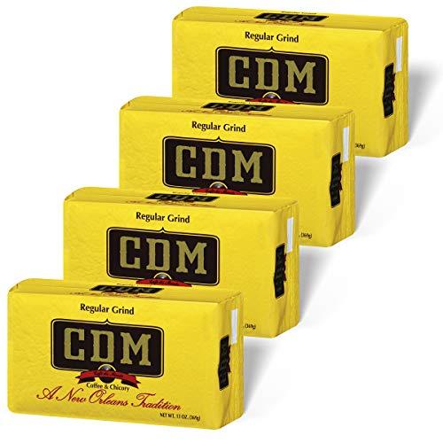 CDM Regular Grind Ground Coffee & Chicory 13 oz. Brick (Pack of 4)