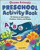 Best Activity Books - Ocean Animals Preschool Activity Book: 75 Games to Review