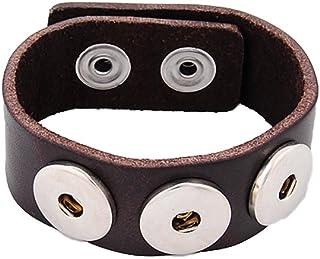 Button Click Druckknopf 7530 Rosegold Perle kompatibel mit Chunk Armband