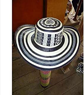 col-p Colombian Hat Sombrero Sinuano Vueltiao 21 Vueltas Made by Colombian Indigenous