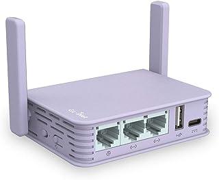 GL.iNet GL-MV1000W (Brume-W) Wireless Edge Computing Gigabit VPN Gateway, 2.4G Wi-Fi (External 5G Wi-Fi Dongle Supported),...