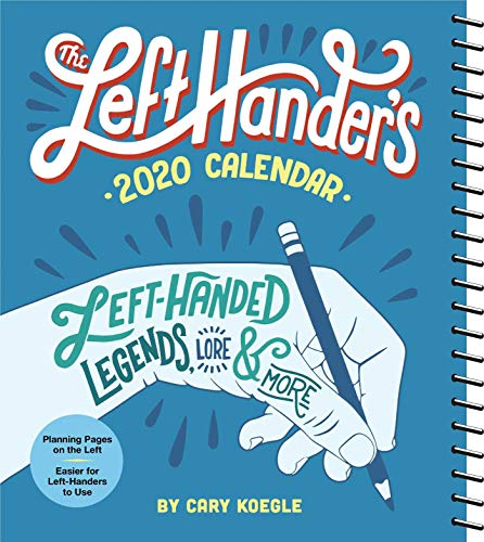 The Left-Hander's 2020 Weekly Planner Calendar