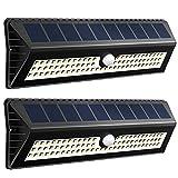 VicTsing Lampe à énergie solaire avec détecteur de mouvement  77LED 1000lumens portée de 4à8m et angle 120° jusqu'à 12heures d'autonomie pour jardin terrasse garage chemin d'entrée escaliers