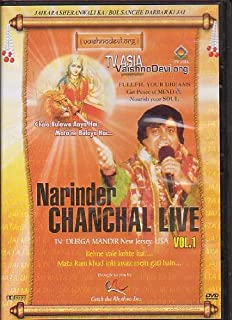 Narinder Chanchal Live in Durga Mandir New Jersey Usa Vol 1 [Dvd ]