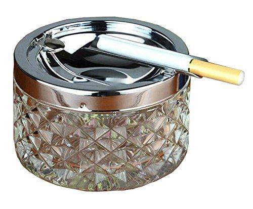 Black Temptation Schreibtisch-rauchender Aschen-Behälter-Zigaretten-Aschen-Kasten