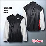 Wilson ラインプルオーバーシャツ プロスタッフチーム 品番:OWA200 (White/Black, O)
