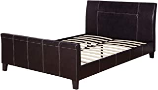 poundex Queen Bed, Brown