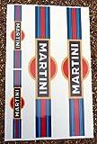 MARTINI optik Motorrad Gabel Aufkleber Sticker