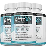 Keto XP Advanced Weight Loss - Xtreme Diet Pills - 180 Capsules - 3 Month Supply