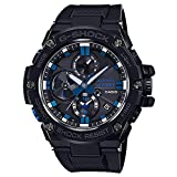Men's Casio G-Shock G-Steel Limited Edition Blue Note Records Bluetooth Watch GSTB100BNR-1A