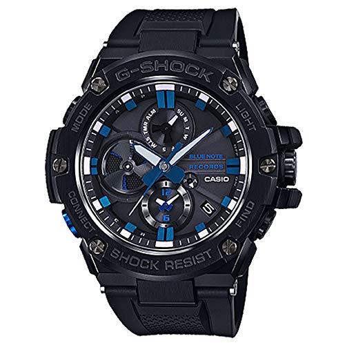 Orologio da uomo Casio G-Shock G-Steel Limited Edition blu Note Registra Bluetooth Orologio GSTB100BNR-1A