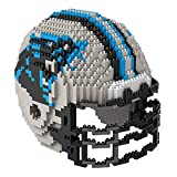 Carolina Panthers NFL Football Team 3D BRXLZ Helm Helmet Puzzle