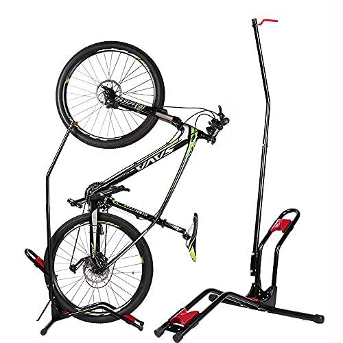 Pantalla De Almacenamiento De Garaje Interior O Bicicletas 20-27'Bicicletas De Montaña Soporte De Bicicleta De Carretera Titular De Soporte Vertical/Horizontal