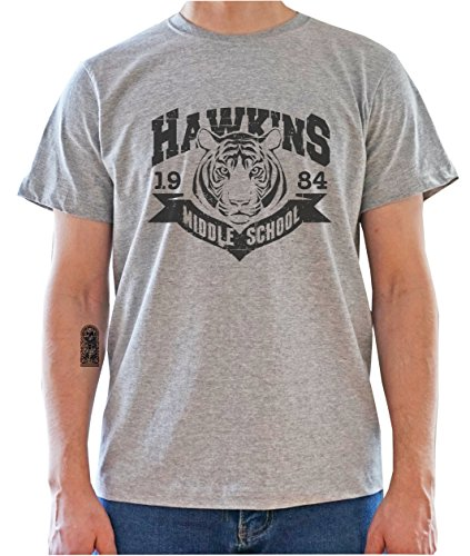 DreamGirl Hawkins Middle School 1983 Tiger Logo - Stranger T
