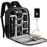 Best Camera Laptop Backpacks - CADEN Waterproof DSLR Camera Bag Backpack Professional, Large Review