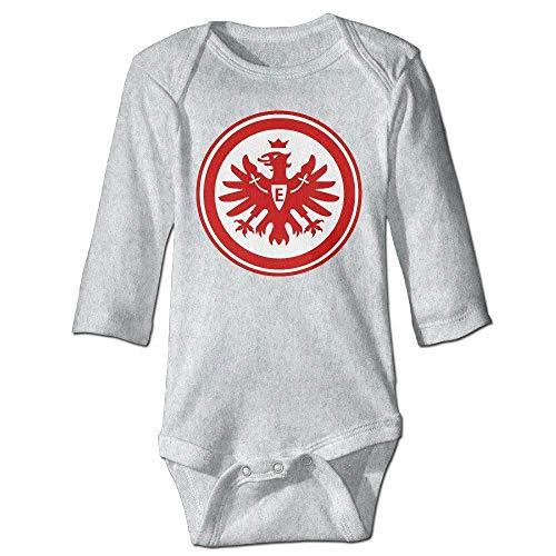 Monicago Neugeborenes Baby-Jungen-Mädchen-Bodysuit-Lange Hülse, Baby's Eintracht Frankfurt Climbing Clothes Bodysuit Long Sleeve