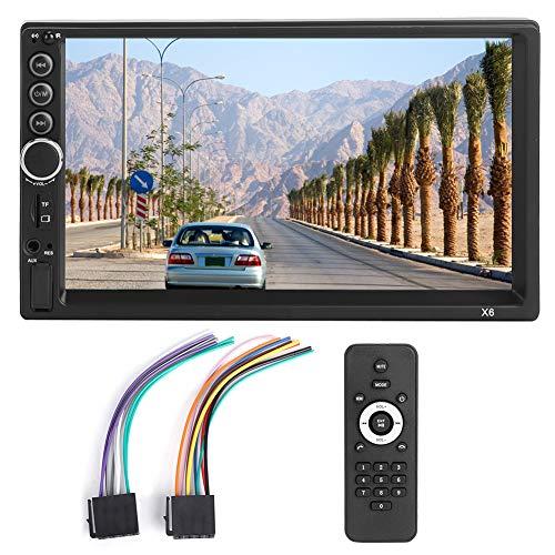Deror Coche MP5 12V 7in 2Din Coche MP5 Bluetooth Manos Libres Interconexión de teléfono móvil Reproductor estéreo automático