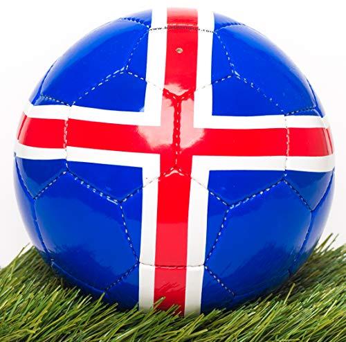 BALLDESIGNER IJsland voetbal landvlag vlag