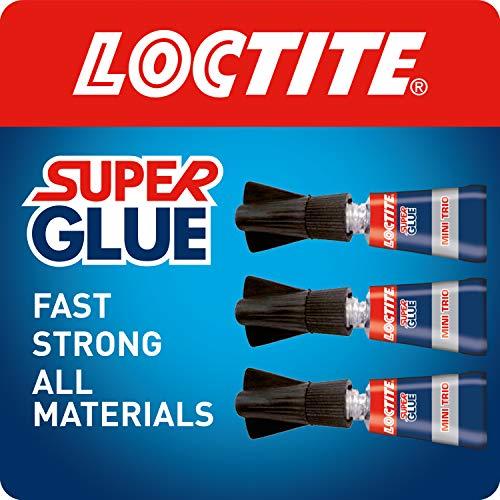 Loctite - Lote de pegamento SuperGlue, 3 x 1 g