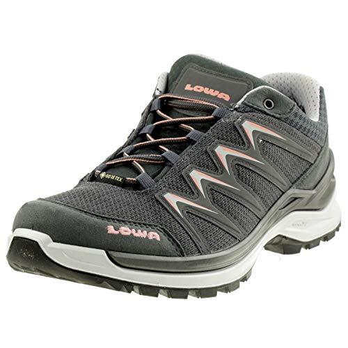 Lowa Innox PRO GTX LO Ws Damen Trekkingschuh Wandern Outdoor 320709 Grau, Schuhgröße:39.5 EU
