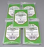 docsmagic.de Wingspan Premium Card Sleeves Bundle 5 Packs 59 x 91 -...