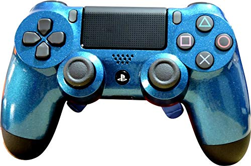 Controle Dualshock 4 - PlayStation 4 - Alta Performance Competitivo - Sport Blue