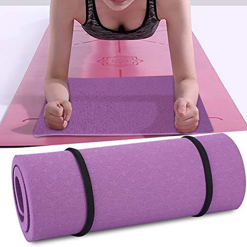Zetiling Almohadilla para la Rodilla de Yoga, colchoneta de Ejercicios para el Dolor, práctica de articulaciones Libres, Pilates, Barre, se Adapta a colchonetas de Yoga de tamaño Completo(# 1)