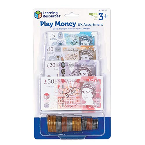 Learning Resources Play Money UK Assortment