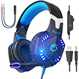 VersionTECH. G2000 Pro Gaming Headset PS4 Xbox...