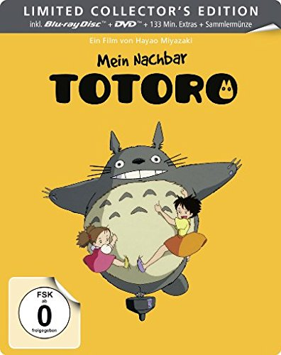 Mein Nachbar Totoro - Steelbook (+ DVD) (+ Sammelmünze) [Blu-ray] [Limited Collector's Edition]