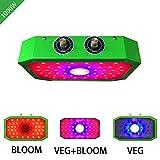 YMXGLT Planta de luz LED 1000W de Vegetales y Plantas de Frutas de plantación de Interior Luz de Relleno Perilla Doble de atenuación,1pack