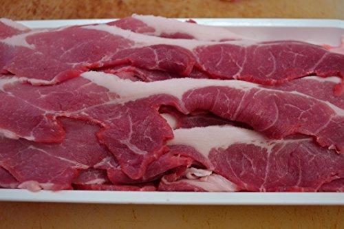厳選黒豚コマ スライス800g 黒豚をリーズナブルなお値段でご提供! 国産 黒豚肉 使用 鍋