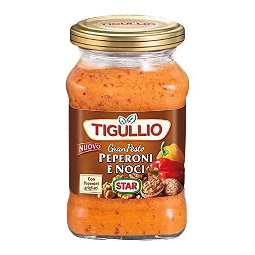 3x Star Tigullio GranPesto Pesto Peperoni e Noci Peperoni und Walnüsse 190g Sauce Kochsaucen