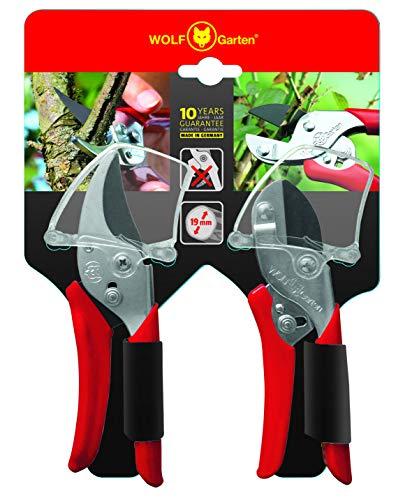 WOLF Garten 7223080 RS RR-EN Kit Cesoie, Rosso, 15x39.200000000000003x39.5 cm