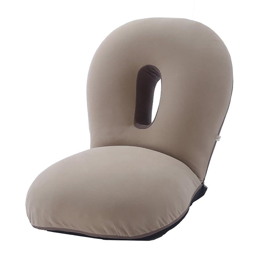 実行可能分割ソフィーCLOUD(クラウド) 眠ると座るをシームレスに 雲の上でお昼寝 新感覚チェア (ブラウン)